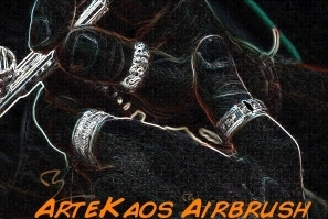 ArteKaos Airbrush - Official Website www.artekaos.com - Airbrush is Art...