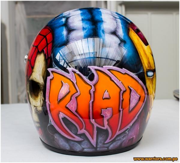 kart - custom helmet