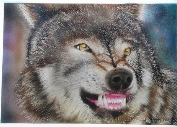 Wolf 5x7 - Favorite Art