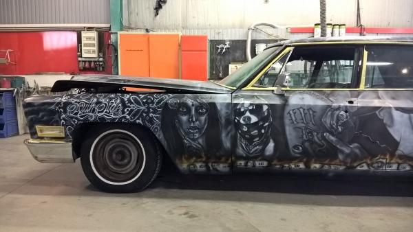 Chicano Art on Cadillac ...4