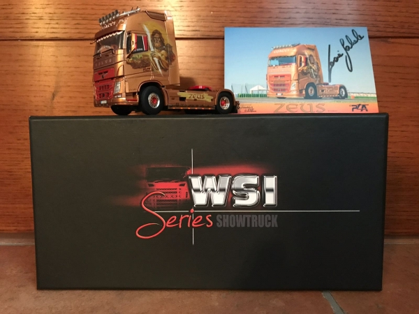 It was a nice surprise to see one of my works, become a collectible model! #VOLVO FH4 Globetrotter XL 4x2 #ZEUS Coacci - #showtruck /1:50 - ArteKaos Airbrush