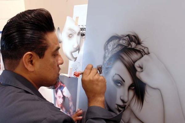 Fonzi, great Artist - Kustom Airbrush