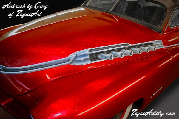 '51 Merc custom paint