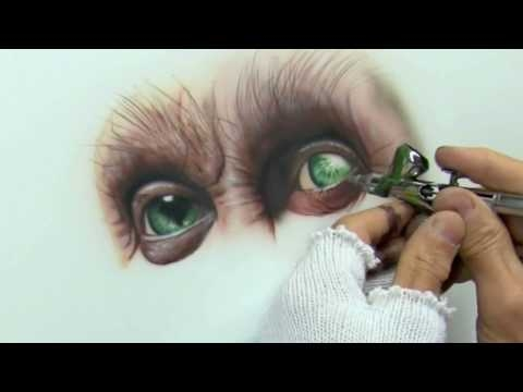 Video: #Airbrush Drawing ???????????????????