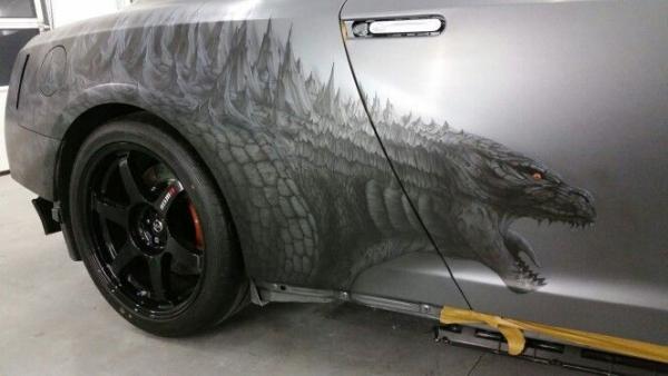 Nissan GTR - Godzilla