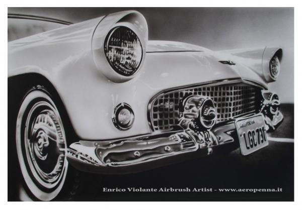auto classica,aerografia - Airbrush Artwoks