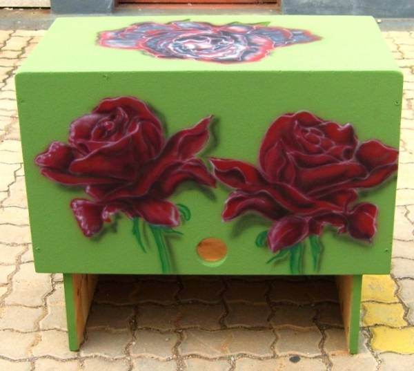 Painted Furniture | Let me airbrush