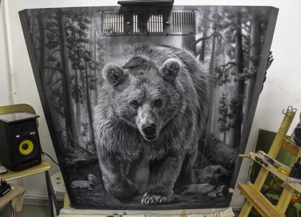 Bear on the Hood - 1
