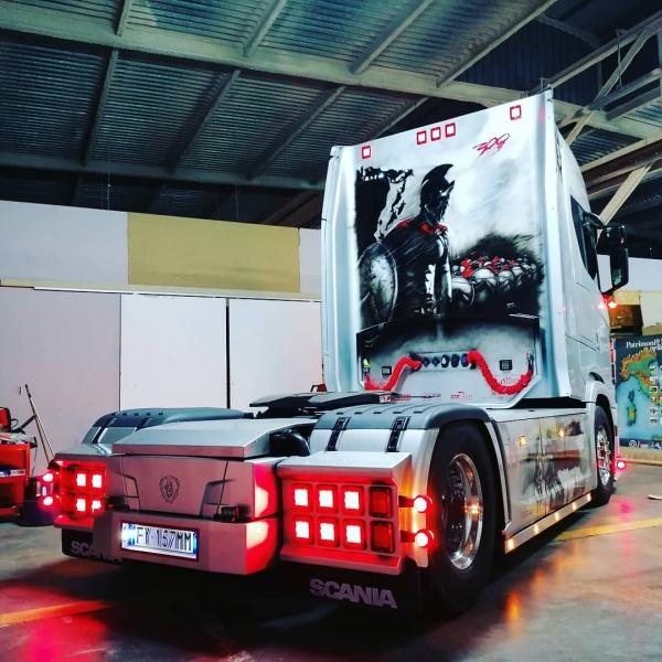 Scania Show Truck - The Spartan, by ArteKaos - ArteKaos Airbrush