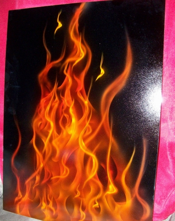 Real fire - Just Airbrush