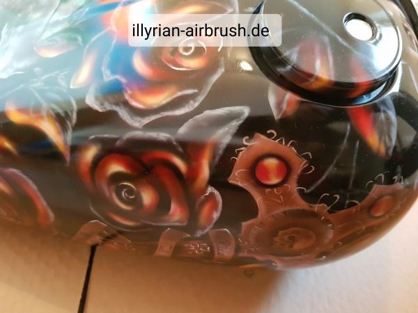 motorcycle tank 2 - Airbrush Artwoks