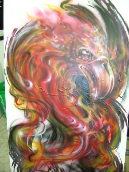Kustom Art on Dbond panel
