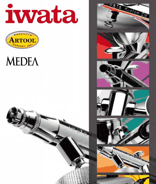 Free Download Iwata Airbrush Catalog