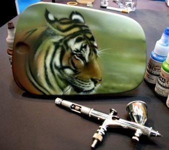 Aerografie-Custom Painting-Pinstripping - Milano