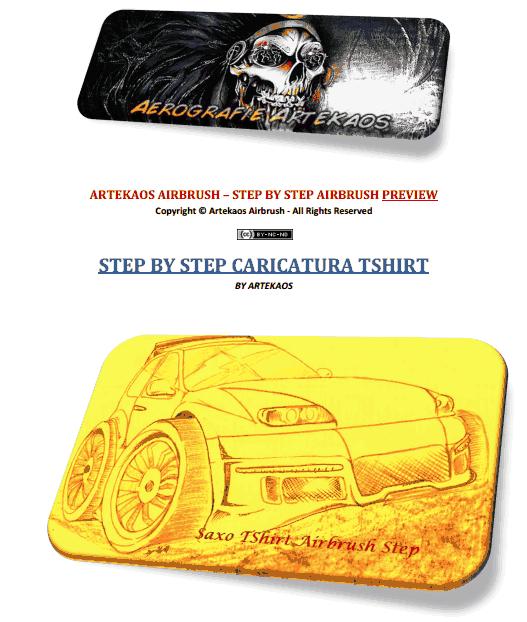 Preview Airbrush Tutorial on TShirt by ArteKaos