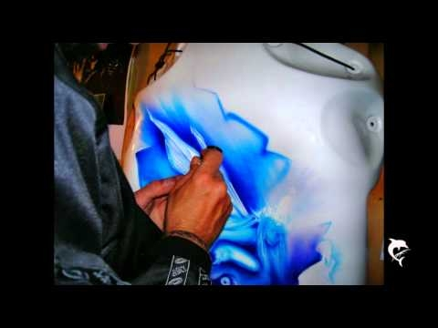 ArteKaos Airbrush - Preview Step by Step - Videos - Airbrush Video Tutorials