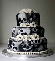 Skull Cake!