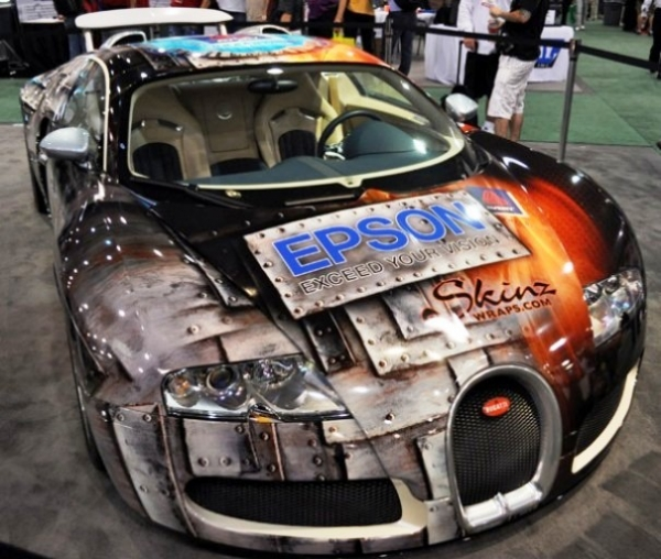 Bugatti & Airbrush