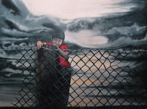 cuadro El niño pwww.facebook.com/pages/nixa-arte-y-aerografia/222640651124798?ref=hlor nixa arte y aerografia,