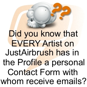 JustAirbrush.com - Tips