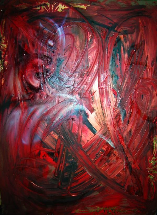 Fury, Abstract Art by ArteKaos