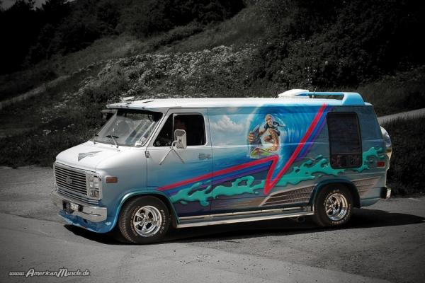 Custom Van I by AmericanMuscle