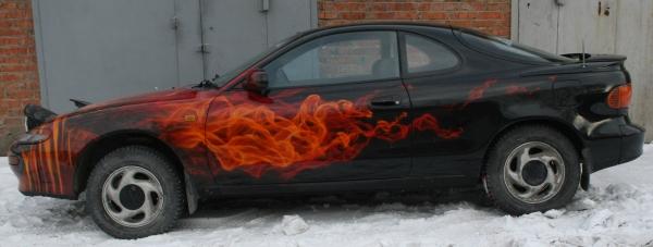 toyota celica true fire