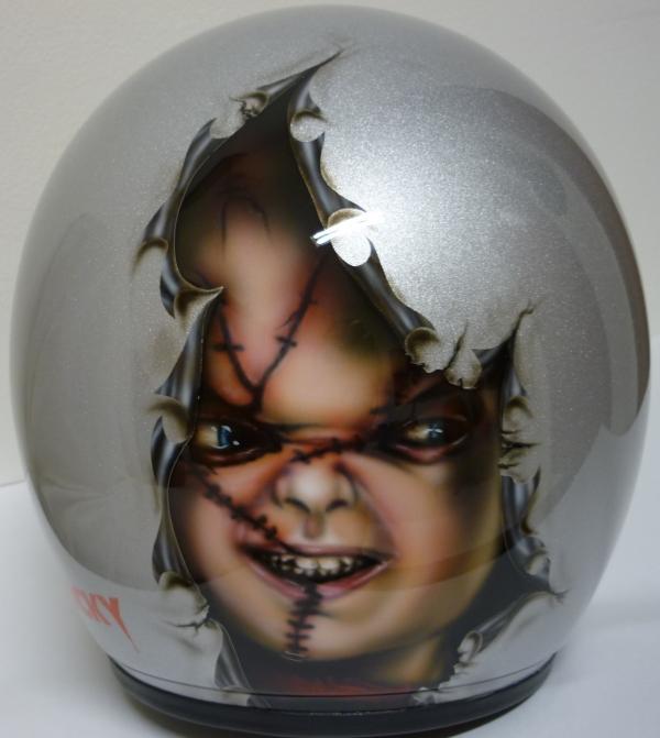 Chucky Helmet - Just Airbrush