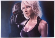 Dutch airbrush: Airbrush art - Photorealism