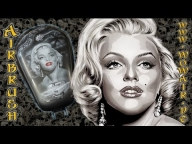 "Airbrush by Wow "" Marilyn Motorradtank "" - Airbrush Videos"