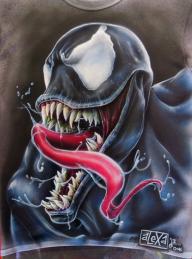 Airbrush: Venom by Dok-aLeXa - Airbrush Artwoks