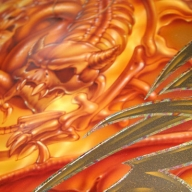 Airbrush Gallery Mike Learn - Kustom Airbrush