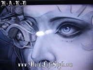 Corey Saint Claire Incredible Airbrush Art - HARD Lifestyle - Fotorealismo