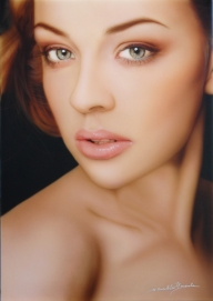 Portrait size A3(297x420mm) - Airbrush Artwoks