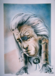 Airbrush sketch.. - ArteKaos Art