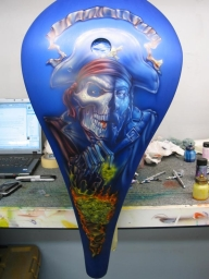Airbrush Gallery Mike Learn - Airbrush Artwoks