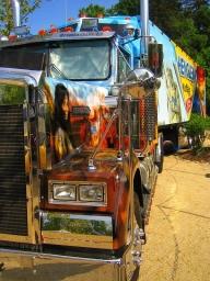 Truck mit Airbrush - Huge! - Airbrush Artwoks