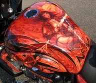 Hairy Designs UK - Airbrush Art  - Airbrush Artwoks
