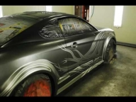 "▶ showkingcar ' custom painting "" tuscani tokyodrift "" kustom car - Tuning Cars Airbrush"