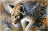 The Source Painting by Sandi Baker - The Source Fine Art Prints and Posters for Sale - Favorite Art