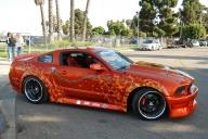Tuning Mustang airbrushed - Kustom Airbrush
