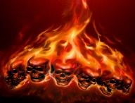 Fuego con aerografia - Airbrush Artwoks