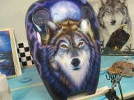 Wolf Mural - Pastrana Unlimited - Airbrush Artwoks