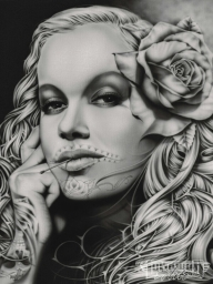 Airbrush Art on Canvas - Favorite Art