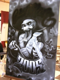 Airbrush Art | Chicano Arte - Airbrush Artwoks