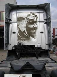 """Camion"" Decorati - Tazio Nuvolari - Fotorealismo"