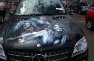 Aerografie Mercedes - Airbrush Artwoks