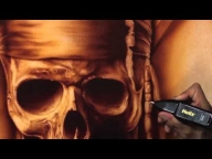 Airbrushing Monochromatic Pirate on Canvas w/ Cory Saint Clair - YouTube - Airbrush Videos
