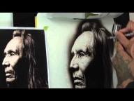 Black and white portrait - Airbrush Videos