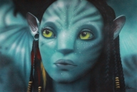Neytiri from Avatar. On paper. A2 - Photorealism